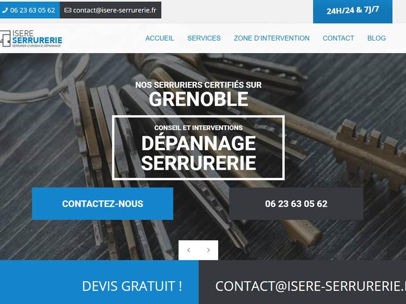 Isère Serrurerie. Votre serrurier de confiance à Grenoble