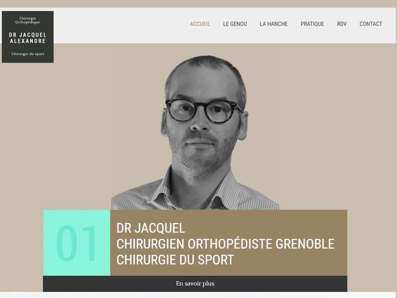 Docteur Jacquel, chirurgien orthopédiste Grenoble