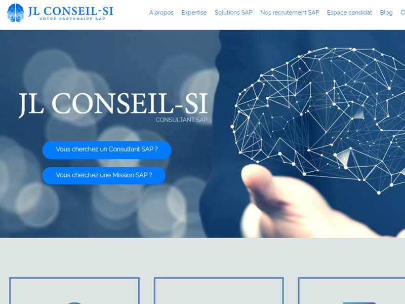 JL Conseil SI : Consultant SAP